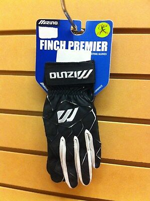 Mizuno Finch Premier Batting Gloves Women's Adult Large Black MAKE OFFERS