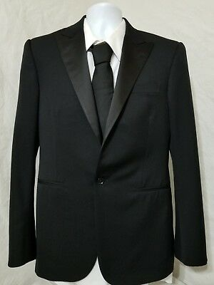 Ralph Lauren Black Label Made in Italy 100% Wool Blazer Sport Coat Jacket 38S