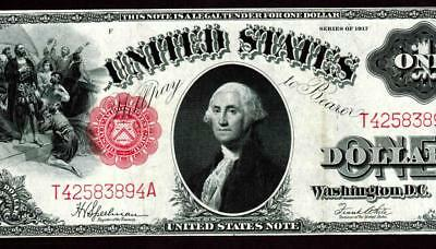 $1 1917 United States Note - Legal Tender  ** MORE CURRENCY FOR SALE **