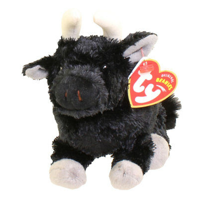 TY Beanie Baby - OLE the Bull (Spain Exclusive) (6 inch) - MWMTs Stuffed Animal