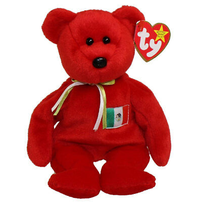 TY Beanie Baby - OSITO the Mexician Bear (USA Exclusive) (8.5 inch) - MWMTs