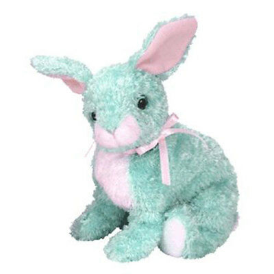 TY Beanie Baby - SPRING the Green Bunny (5 inch) - MWMT's Stuffed Animal Toy