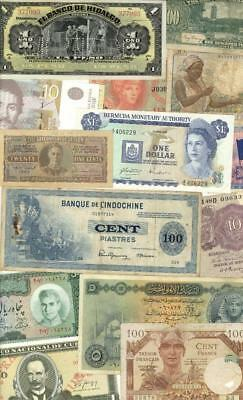 Foreign Currency Banknote Lot 50 +++ Different #8