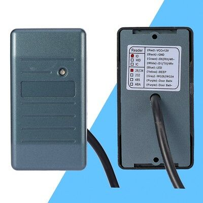 Waterproof Security RFID EM ID Card Reader For Wiegand 26/34 Interface 125KHz