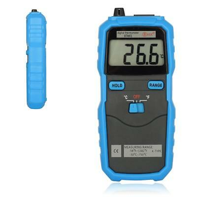 BSIDE BTM01 Digital 1.77IN 2-Channel Handhold K-Type Temperature Thermometer TS
