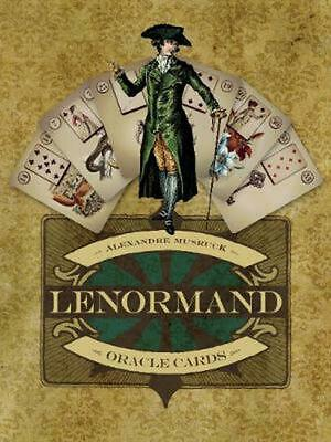 Lenormand Oracle Cards by Alexandre Musruck Free Shipping!