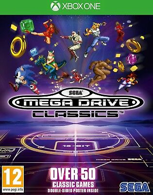 SEGA Mega Drive Classics (Xbox One)  BRAND NEW AND SEALED - QUICK DISPATCH