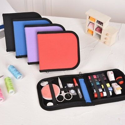 New Mini Travel Kit Scissor Thread Needles Sewing Kit Beginner Sew Tools Repair