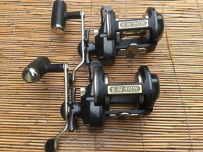 Daiwa  40 W Digital Readout Trolling Reel X. 2