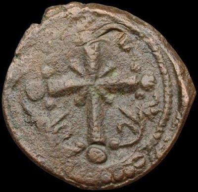Anonymous AE Christ Follis, Class I, Ornate Latin Cross, 24mm, 5.32g