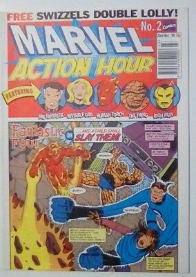 Marvel Action Hour No. 2 Dated 23 October 1996. Ff. Iron Man. Near Mint.