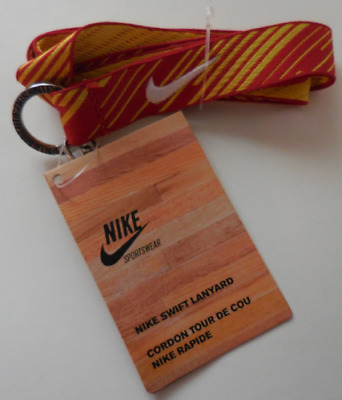 Nike Neck Swift Lanyard Color Sports Red/Tour Yellow Adult OSFM New