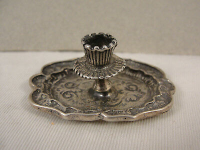 Miniature Noelty Silver CHAMBER STICK