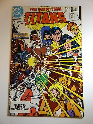 The New Teen Titans #34 Early Deathstroke! Beautiful NM- Condition!!