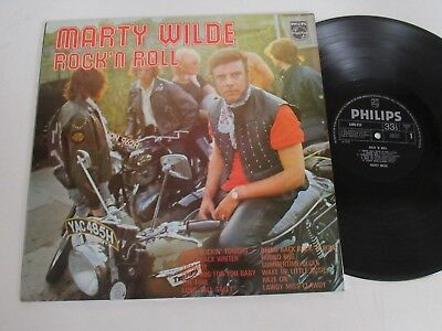 Marty Wilde/rock ´n Roll  Lp 1970 Uk Philips 6308 010
