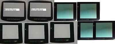 9 LOT Replacement Screen Lens for Game Boy 2 x Advance 3 x Color 4 x Pocket