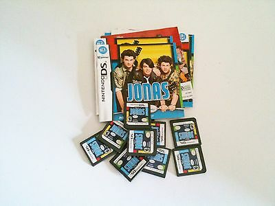 10 Lot Of Disneys Jonas Game And Instructions For Nintendo Ds Nds