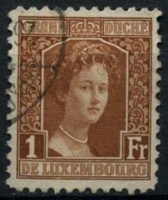 Luxembourg 1914 SG#184, 1f Red-Brown Used #D75223