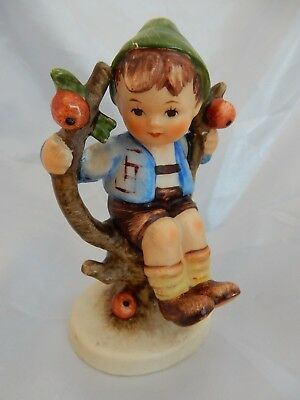 Lovely Vintage Hummel Goebel Figurine 'Apple Tree Boy' (742 3/0) For Restoration
