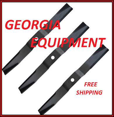 "Frontier GM1060E & GM2060 60"" grooming mower part # 5BP0006641X set of 3 blades"
