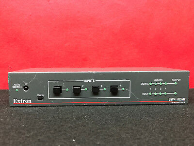 Extron SW4 4x1 HDMI Switcher KCC-REM-ETN-SW2 HDMI Switcher