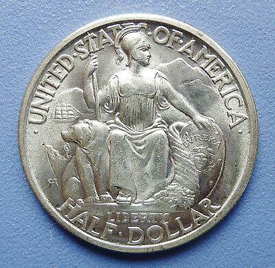 1935-S U.s. San Diego Silver Commemorative Half Dollar ~ Uncirculated Condition