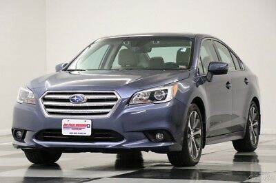 Subaru Legacy AWD Limited  Leather Sunroof  Twilight Blue Sedan Like New Heated Seats 3.6L V6 Camera Bluetooth 9K Miles 18 16 2018 17 4WD LTD