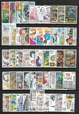 SPAIN - 100 x Used Commemoratives - Mainly 1970s Period
