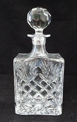 IRENA 24% Lead Crystal Decanter Made In Poland - 26 cm Tall - B22