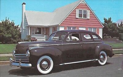 1941 Chrysler Royal Sedan Six Cyl. Fluid Drive-Wide Whitewalls-Economical & Fast