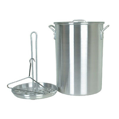 Thunder Group ALSKTP012 26 Qt Aluminum Turkey Fry Pot w/ Mirrow Finish