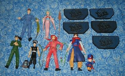 6 Yu Yu Hakusho Anime Large Sized Action Figures Yusuke Hiei Kurama Koenma More