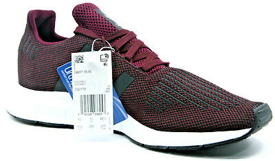ffd6242a07393 Adidas Men s Originals Swift Run Shoes Maroon Core Black White Size 10.5  CQ2118