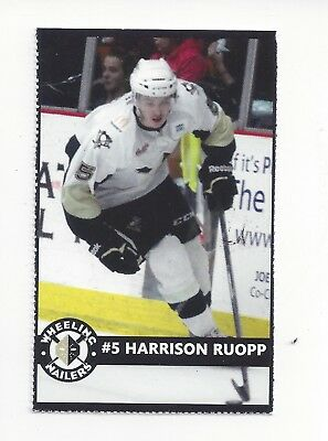 2015-16 Wheeling Nailers Rochester Americans ECHL Adam Krause