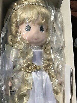 """Precious Moments Classic Doll Series Gloria 16"""" Limited Edition angel from 1995"""