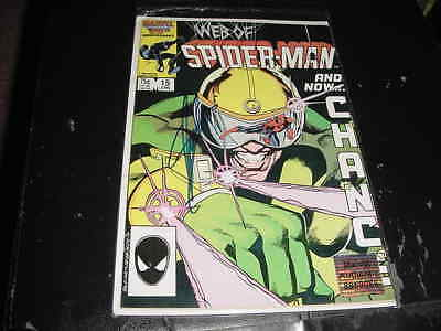 STAN LEE signed AUTO marvel 1986 SPIDER MAN  #15 comic book (authentic hologram)