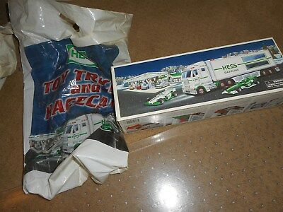 Hess 2003 Toy Truck And Racers MIB