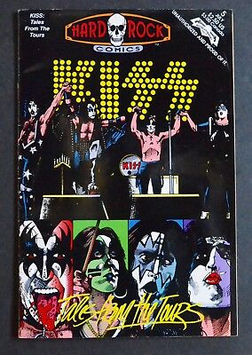 Kiss Hard Rock Comics No 5 Tales From The Tours  1992