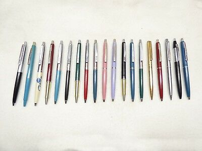 Papermate double heart pen - vtg slim more ballpoint pencil lot old paper mate