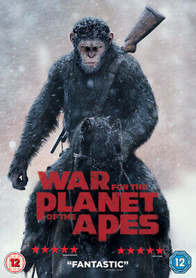 War for the Planet of the Apes DVD (2017) Andy Serkis
