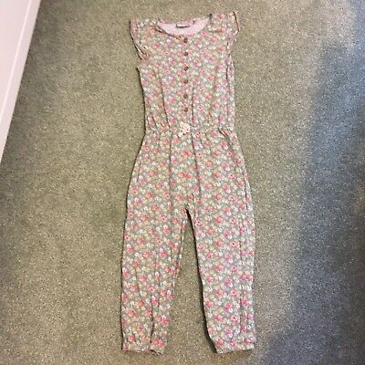 next girls floral jumpsuit age 4 to 5 years