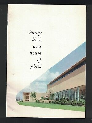 Purity Lives in a House of Glass 1954 Coca Cola Booklet