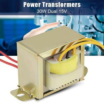30W Ferrite Core Input 220V Output Double 12/15V Power Monophase Transformer Hot