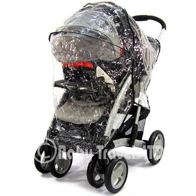Rain Cover To Fit Hauck Shopper Neo 2 Stroller Buggy Pram (TS RC)