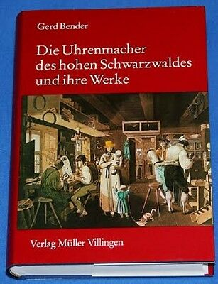 Rare Watch Book, The Clock Makers of High Black Forest and Her Factory