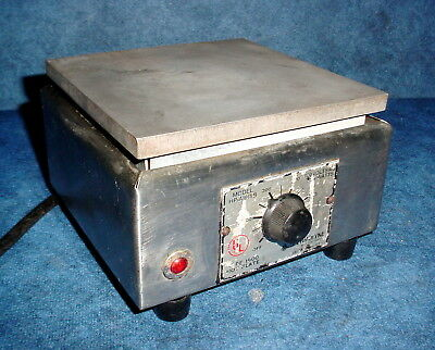 """Thermolyne HP-A1915B Type 1900 Laboratory 6""""x 6"""" Hot Plate 120 Volt 750 Watts"""