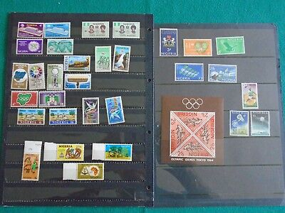 Nigeria Twelve unmounted mint sets and miniature sheet unmounted mint