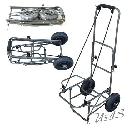 Delta Fishing Trolley Luftbereifung Carp Barrow Xl Angelkarre Transportwagen Rba