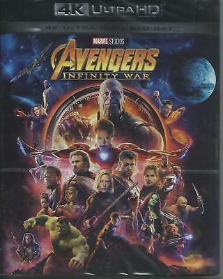 The Avengers. Infinity War 4K Ultra HD (2018) 2 Blu Ray dal 29/08/2018
