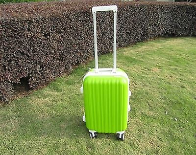 1X 24 Inch Green Universal Wheel Lock Travel Suitcase Luggage Ba